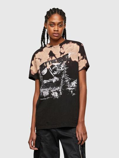 Diesel - T-DARIA-R4, Noir - T-Shirts - Image 1