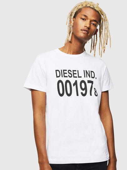 Diesel - T-DIEGO-001978, Weiß - T-Shirts - Image 1