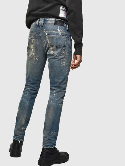 Diesel - Thommer JoggJeans 0870X, Mittelblau - Jeans - Image 2