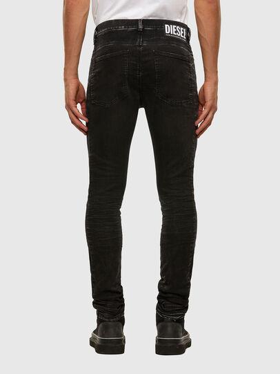 Diesel - D-REEFT JoggJeans® 009FY, Schwarz/Dunkelgrau - Jeans - Image 2