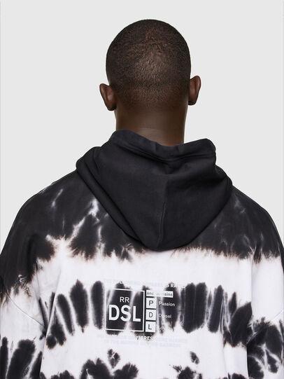 Diesel - S-UMMER-A83, Noir/Blanc - Pull Cotton - Image 3