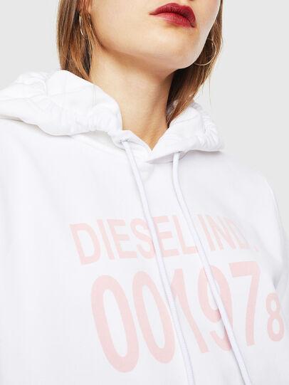 Diesel - F-ANG-HOOD-J1, Weiß - Sweatshirts - Image 3