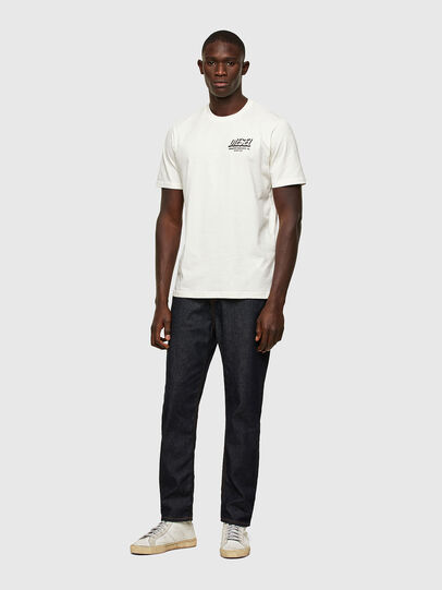 Diesel - T-JUST-A33, Bianco - T-Shirts - Image 5