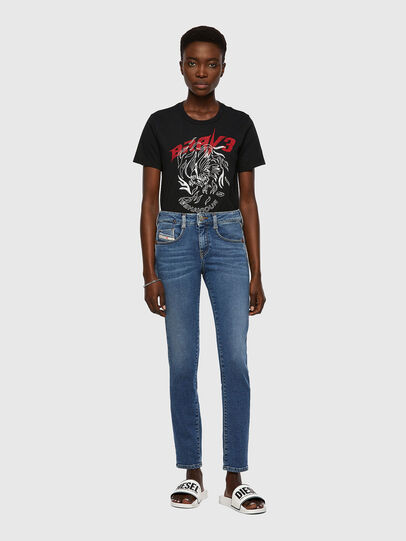 Diesel - D-Ollies JoggJeans® 069XA, Blu medio - Jeans - Image 5