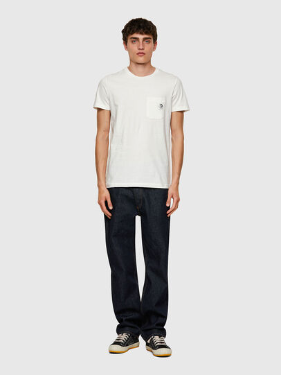 Diesel - T-WORKY-MOHI, Bianco - T-Shirts - Image 4