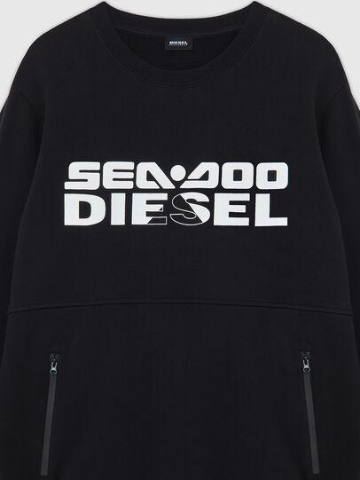 Diesel - BMOWT-ROUNDOO, Schwarz/Orange - Out of water - Image 3
