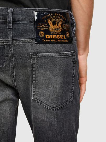 Diesel - D-Reeft JoggJeans® 009SU, Nero/Grigio scuro - Jeans - Image 4