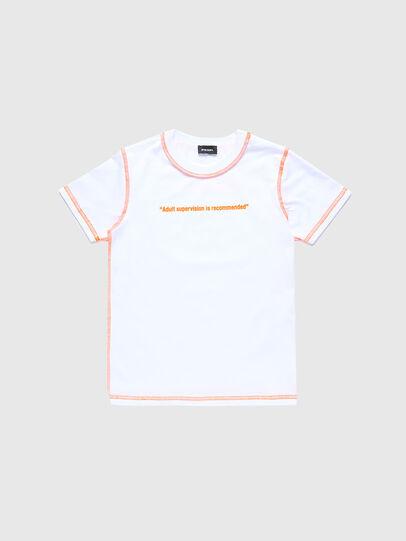 Diesel - TJUSEAM, Blanc - T-shirts et Hauts - Image 1
