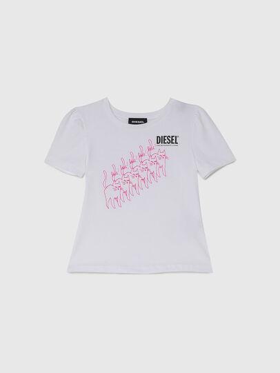 Diesel - TLOPPIB-R, Blanc - T-shirts et Hauts - Image 1