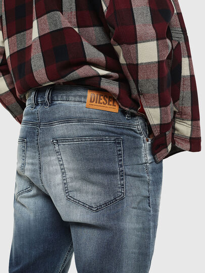 Diesel - D-Vider JoggJeans 069IP, Mittelblau - Jeans - Image 4