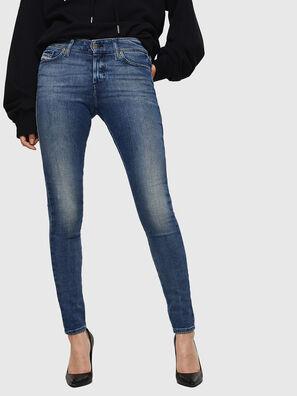 Slandy 083AQ, Mittelblau - Jeans