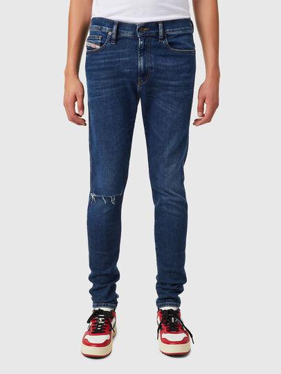 Diesel - D-Istort 09B31, Bleu Foncé - Jeans - Image 1