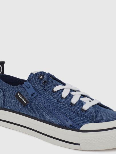 Diesel - S-ASTICO LOW ZIP W, Jeansblau - Sneakers - Image 4