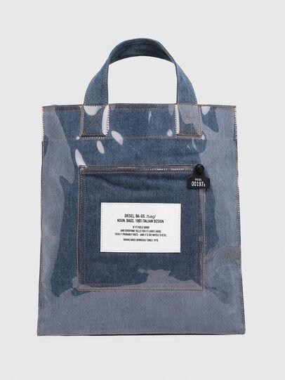 Diesel - F-THISBAG SHOWEI, Jeansblau - Shopper und Schultertaschen - Image 1