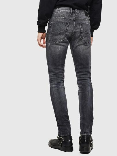 Diesel - Tepphar 0095J, Schwarz/Dunkelgrau - Jeans - Image 2