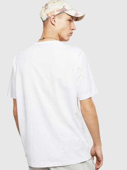 Diesel - T-JUST-POCKET-T17, Weiß - T-Shirts - Image 2