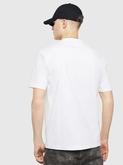 Diesel - T-JUST-T24, Weiß - T-Shirts - Image 2