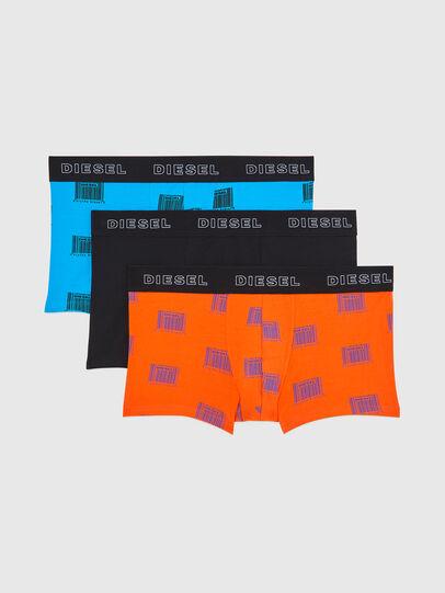 Diesel - UMBX-DAMIENTHREEPACK, Orange/Schwarz - Boxershorts - Image 1
