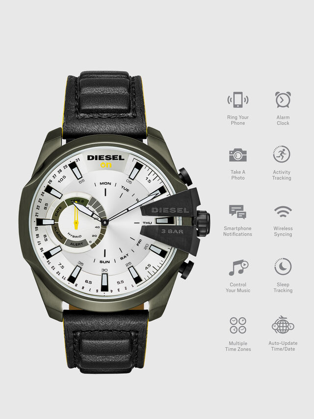 Diesel - DT1012, Schwarz - Smartwatches - Image 1