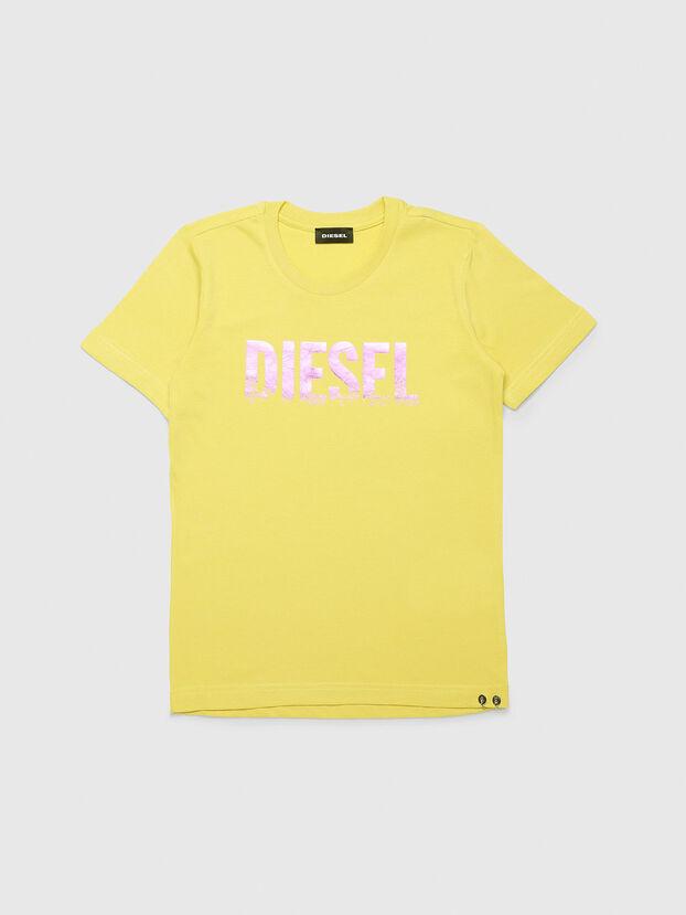 TSILYWH, Gelb - T-Shirts und Tops
