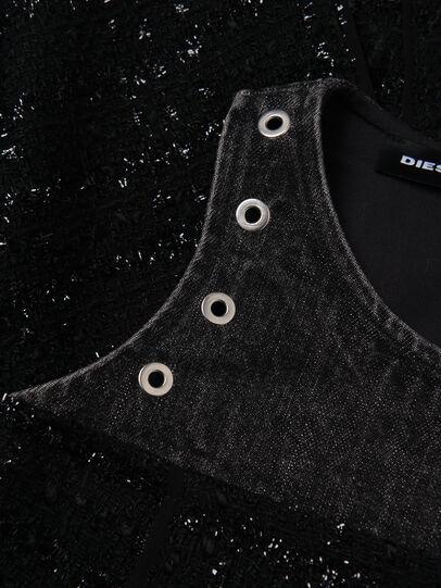 Diesel - DNAKELLA, Schwarz - Kleider - Image 3