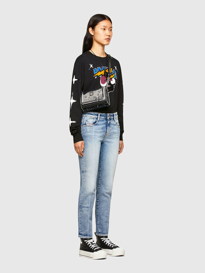 Diesel - CL-T-JUST-LS-O, Nero - T-Shirts - Image 8