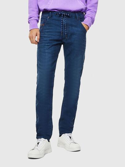 Diesel - Krooley JoggJeans 0098H, Mittelblau - Jeans - Image 1