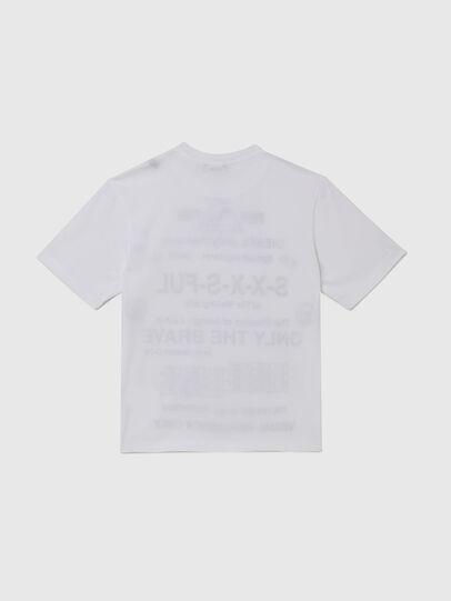 Diesel - TBALLX2 OVER, Weiß - T-Shirts und Tops - Image 2