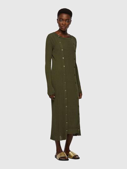 Diesel - M-GEORGIA, Vert Olive - Robes - Image 1