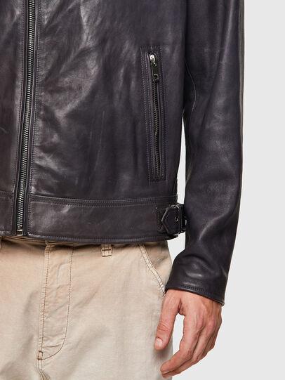 Diesel - L-CODY-NEW, Noir - Vestes de cuir - Image 3