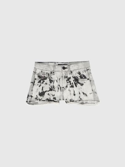 Diesel - PRIFTY, Blanc/Noir - Shorts - Image 1