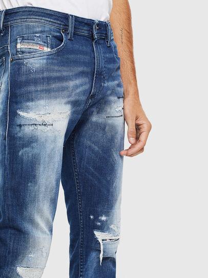 Diesel - Thommer JoggJeans 0099S, Dunkelblau - Jeans - Image 3