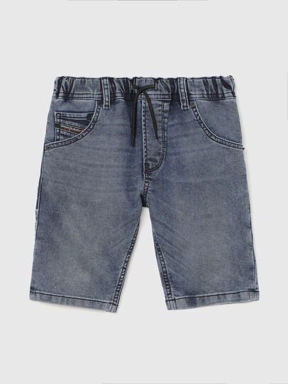 Diesel - KROOLEY-J SH JOGGJEANS, Bleu moyen - Shorts - Image 1