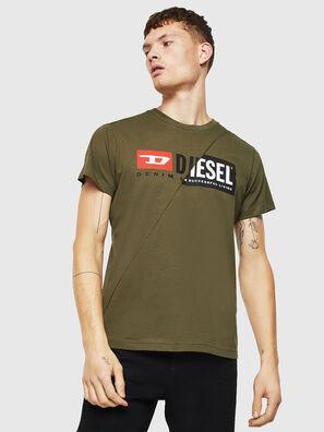 T-DIEGO-CUTY, Armeegrün - T-Shirts