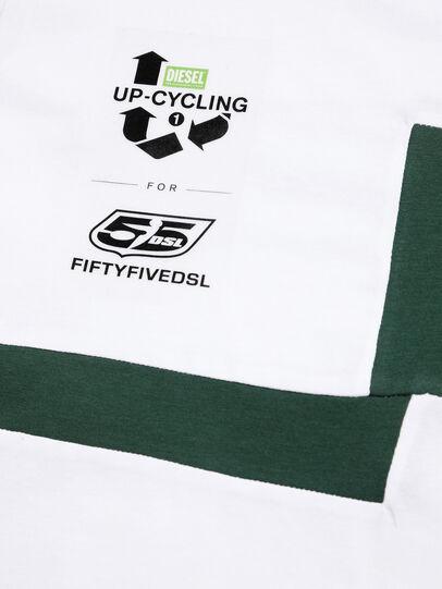 Diesel - D-FRANKENSTEIN 2.1, Weiß/Grün - T-Shirts - Image 4