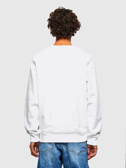 Diesel - S-GIRK-A70, Blanc - Pull Cotton - Image 2