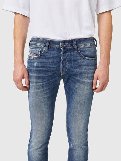 Diesel - Sleenker 09A86, Bleu Clair - Jeans - Image 3