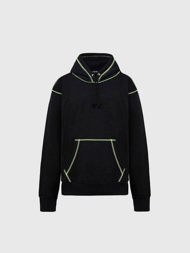 S-ALBYSEAM, Schwarz - Sweatshirts