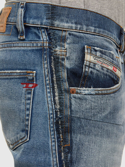 Diesel - D-Strukt 009GE, Mittelblau - Jeans - Image 5