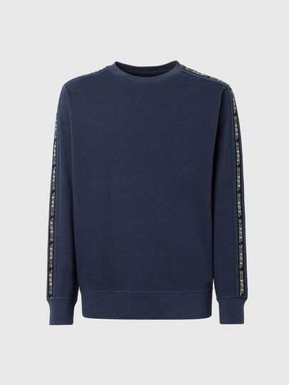 Diesel - UMLT-WILLY, Blau - Sweatshirts - Image 1
