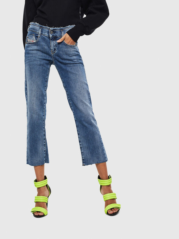 D-Ebbey 009AA, Mittelblau - Jeans