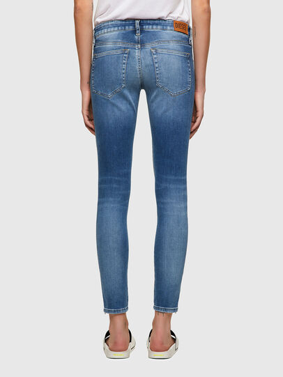 Diesel - Slandy Low 069ST, Blu Chiaro - Jeans - Image 2
