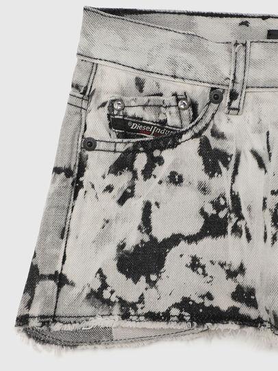 Diesel - PRIFTY, Blanc/Noir - Shorts - Image 3