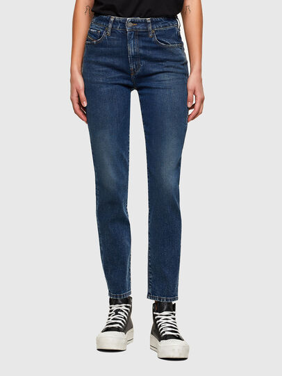 Diesel - D-Joy 009NV, Dark Blue - Jeans - Image 1