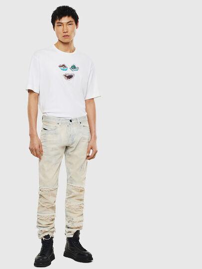 Diesel - TEORIALE-A, Weiß - T-Shirts - Image 5