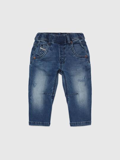 Diesel - FAYZA B JOGGJEANS-N, Bleu moyen - Jeans - Image 1