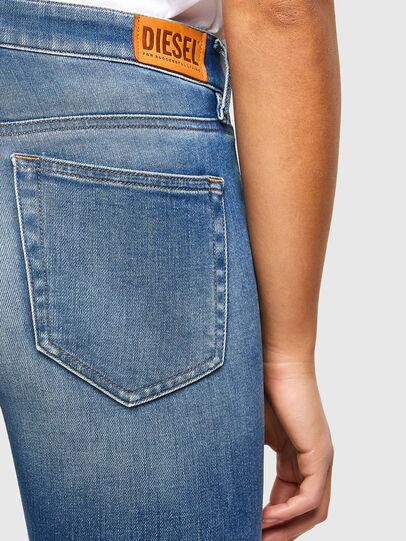 Diesel - Slandy 009QS, Blu Chiaro - Jeans - Image 4