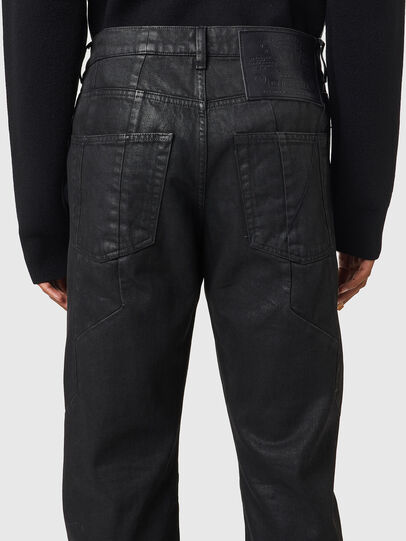Diesel - D-Kras 0BFAX, Nero/Grigio scuro - Jeans - Image 4