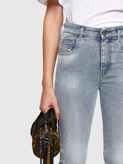 Diesel - Slandy High 009TG, Blu Chiaro - Jeans - Image 3