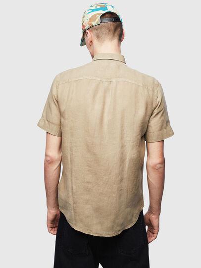 Diesel - S-KIRUMA-B, Beige - Hemden - Image 2